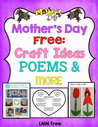 lmn tree mother u0027s day free poems craft ideas and more for pre