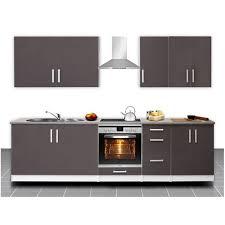 cuisine équipé cuisine équipée de 2m80 célia avec façade laquée disponible en