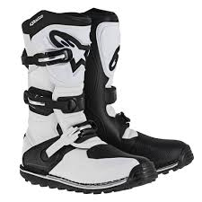 brown motocross boots alpinestars racing tech t off road dirt bike trail atv motocross
