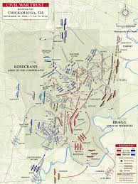 Map Of Chattanooga Tn Chickamauga September 19 1pm To Dusk Civil War Trust