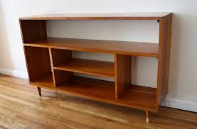 mid century modern bookshelves picked vintage