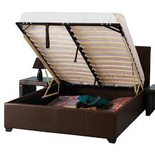 Bed Platform With Storage Platform Bed Frame Queen With Storage And Wood Devon Ideas Picture
