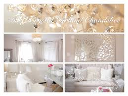 Easy Bedroom Diy Diy Room Decor Ideas Crystal Garland Chandelier Mirror Mosaic