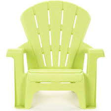 Outdoor Furniture Plastic Chairs by Little Tikes Garden Chair Green Walmart Com