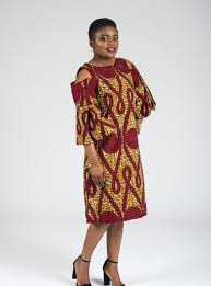 african dashiki print dress with round neck beautiful
