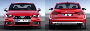 kereta audi s4 frankfurt 2015 all audi s4 b9 sedan and avant revealed
