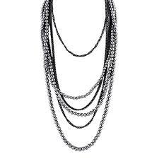 black necklace long images Cheap black tassel necklace find black tassel necklace deals on jpg