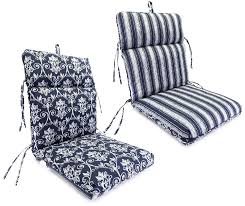 Striped Patio Chair Cushions by Chair Exciting Patio Chair Cushions Design Lowes Outdoor Cushions