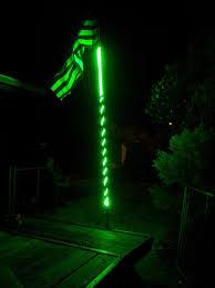 Flag Pole Light Lighted Flag Pole
