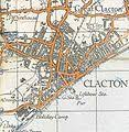 clacton on sea map clacton on sea