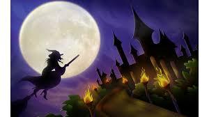 4k halloween wallpaper flying witch 4k halloween wallpapers free 4k wallpaper