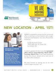 the nwmls lynnwood office is moving northwest multiple listing