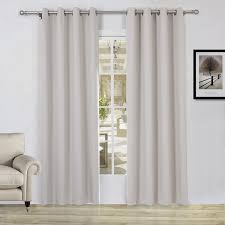 amazon com lullabi solid thermal blackout window curtain drapery