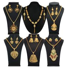 buy vendee fashion indian gold plated jewellery combo
