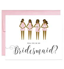 be my bridesmaid invitations will you be my bridesmaid card pink skin bridesmaid