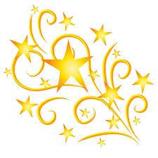 fuochi d artificio clipart oro dei fuochi d artificio delle stelle di fucilazione