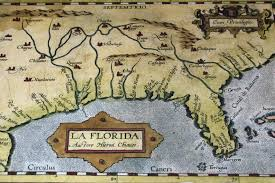 Vintage Florida Map by Coast Naturetime Page 3