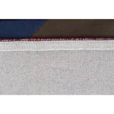 designer wool area rugs eclectic designer wool rug blue rust purple free shipping