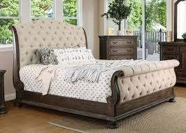 Upholstered Sleigh Bed Astoria Grand Murillo Transitional Upholstered Sleigh Bed