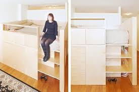 Loft Bed For Studio Apartment finally a loft bed that u0027s not a clunky monstrosity