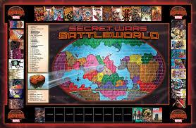 Marvel Universe Map Secret Wars 2015 Marvel Comics Abandons Previous Plans With Final