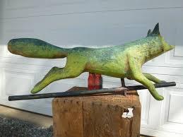 Bull Weathervane Rare U0026 Antique Sought After Running Fox Weathervane Folk Art