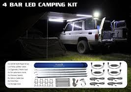 4 bar led camping kit 12 volt direct adelaide