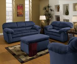 blue and brown living room waplag interior design home decoration