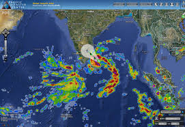 Ocean Depth Map Pdc Weather Wall 2012 October 29 World U0026 039 S Weather And