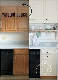 raising kitchen base cabinets genius diy raising kitchen cabinets and adding an open