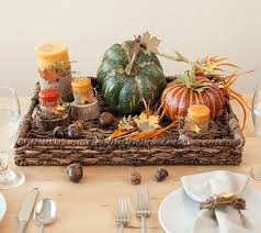 tuscan style dining table leaf centerpieces fall decor home