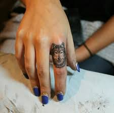 small wolf on finger best design ideas