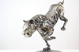 metal lion sculpture lion metal sculpture mari9art sculptors artists