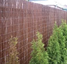 willow fence matting