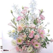 flower arrangements r rakuten global market birthday flowers 1 sky blue pink