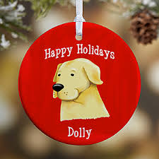 personalized breed ornaments