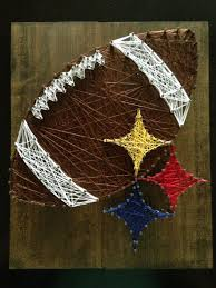 gifts for steelers fans steelers string art by miknittncraft on etsy steelers pinterest