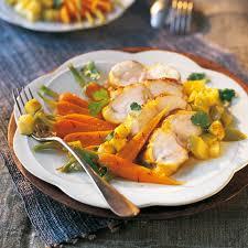 cuisiner la lotte à la poele recette poisson sucré salé lotte pomme orange