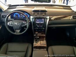 2015 Camry Interior Toyota Ph Launches 2015 Camry Auto Industry News