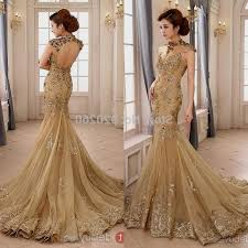 gold wedding dress gold mermaid wedding dresses naf dresses