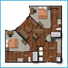 1000 square feet house models bedroom inspired bath floor plans