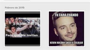 Memes De Kevin - j balvin critica con memes a kevin rold磧n por fiesta de cristiano