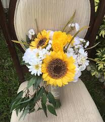 Sunflower Wedding Bouquet Silk Rustic Wedding Bouquet Sunflower Wedding Bouquet Wedding