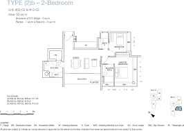 floor plans one balmoral