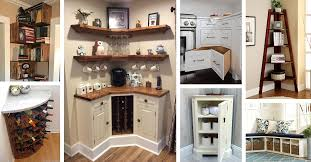 outside corner kitchen cabinet ideas 38 best corner storage ideas and designs for 2021