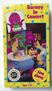 Barney And Backyard Gang Amazon Com Barney In Concert Vhs Bob West Julie Johnson Dean
