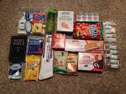 new care package make homeless care packages for the less fortunate this year