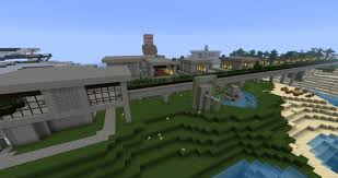 modern village w automated wheat farm minecraft project