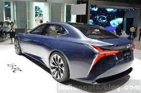 lexus lf sedan lexus lf fc concept u2013 geneva motor show live