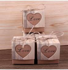 wholesale gift wrap rolls heart hollow candy box candy box vintage wedding gifts for guests